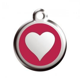 Médaille Red Dingo Coeur