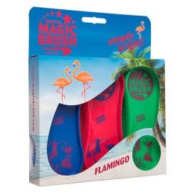 Brosse Magic Brush Flamingo