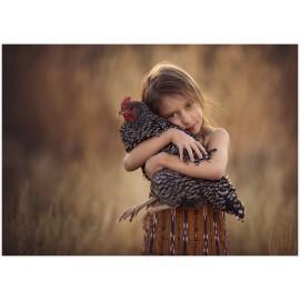 Apprivoiser les poules, par et pour enfants