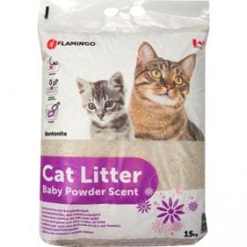 Litière pour chat poudre de Bébé