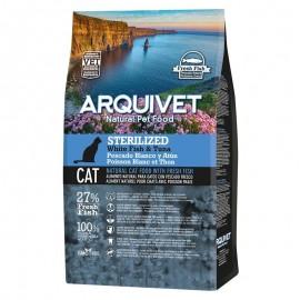 Arquivet - Sterilized - Poisson blanc et thon - 1.5kg