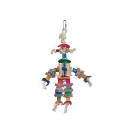 Jouet Oiseaux Scarecrow Multicolore 29cm